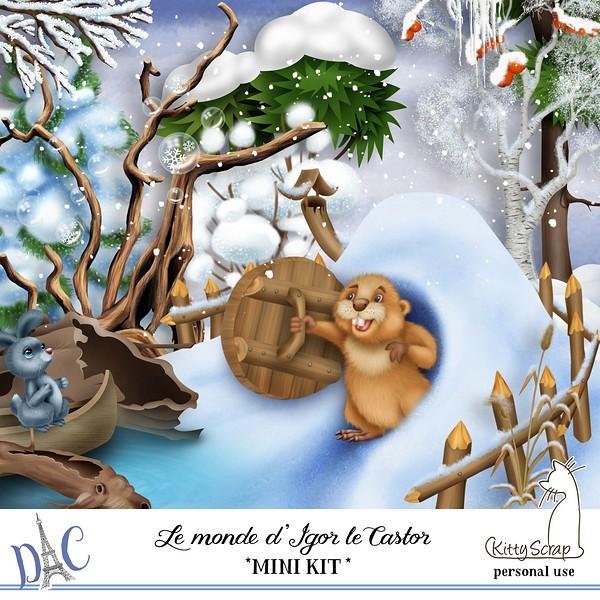 LE MONDE D'IGOR LE CASTOR - lundi 13 janvier / monday january 13th Previ297