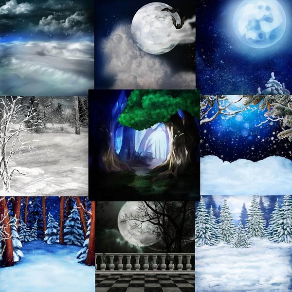 FULL MOON NIGHT IN WINTER - lundi 30 novembre / monday november 30th Previ335