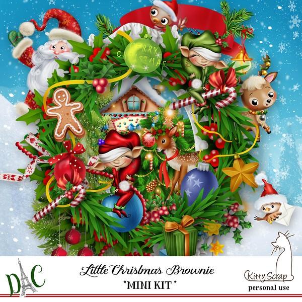 LITTLE CHRISTMAS BROWNIE - lundi 14 décembre / monday december 14th Previ336