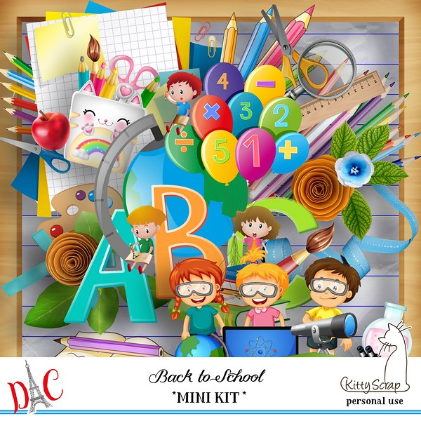 BACK TO SCHOOL - lundi 14 septembre / monday september 14th Previe24