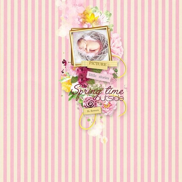 24 mars : Flowered Moment Simple61