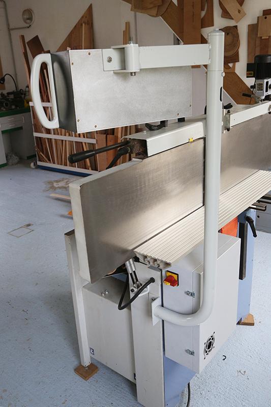 Motorisation table raboteuse (voir p.13) et amélioration R/D Holztech FS320 (première partie)  - Page 21 17_avr20