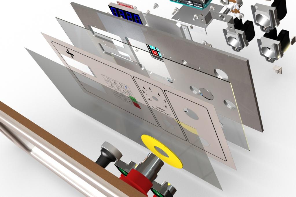 Motorisation table raboteuse (voir p.13) et amélioration R/D Holztech FS320 (première partie)  - Page 20 Assemb39