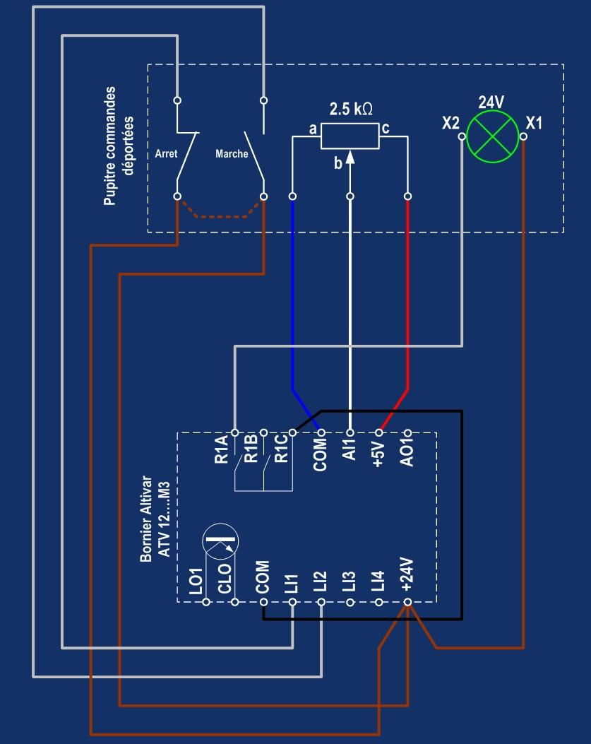 Motorisation table raboteuse (voir p.13) et amélioration R/D Holztech FS320 (première partie)  - Page 22 Cablag14