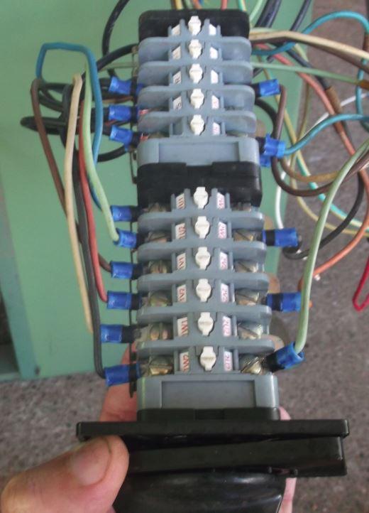 branchement électrique toupie scie chambon 158 TS Captur15
