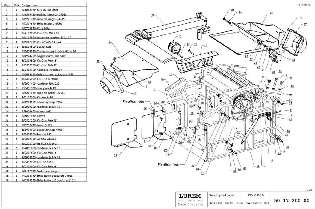 HELP! Problème d'évacuation de copeaux sur combi LUREM 310 - Page 2 Captur22