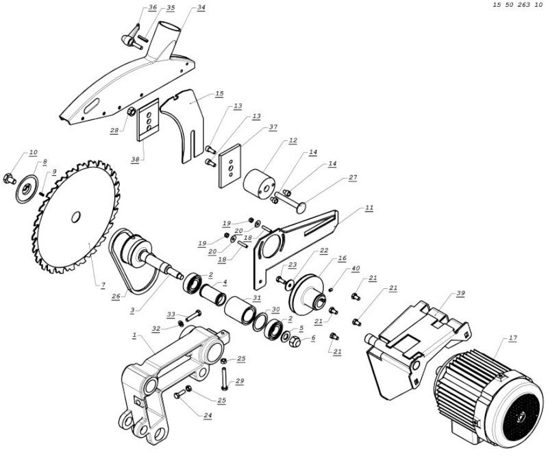 fabrication scie Captur76