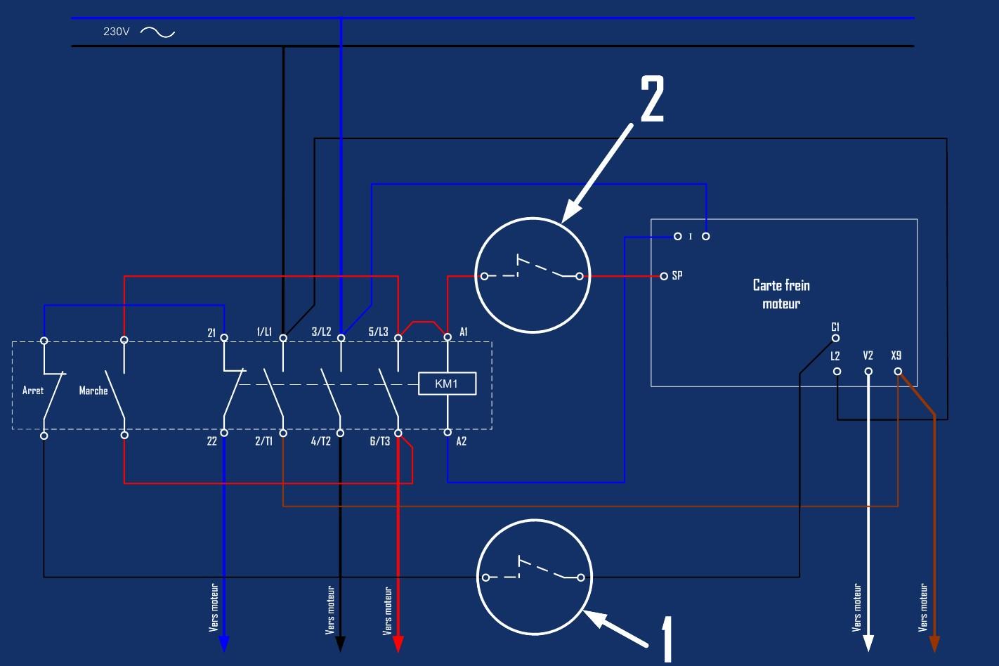 Motorisation table raboteuse (voir p.13) et amélioration R/D Holztech FS320 (première partie)  - Page 21 Circui13