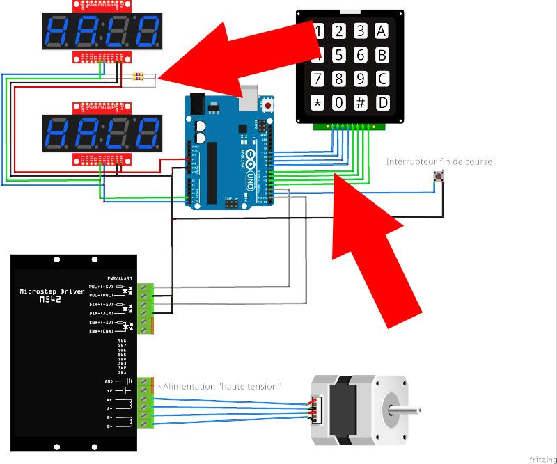 Motorisation table raboteuse (voir p.13) et amélioration R/D Holztech FS320 (première partie)  - Page 22 Montye10