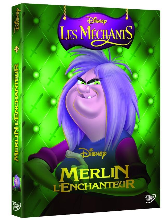 [Rééditions DVD] La Collection des Méchants Disney - Page 5 Mychan17
