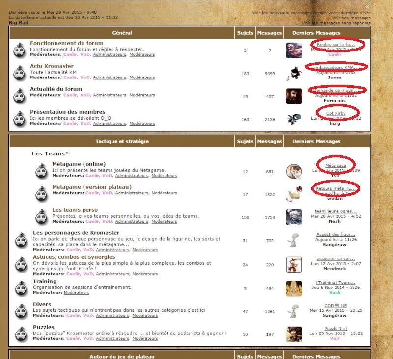 Demande de modification : date d'affichage des messages (Je sais pas où mettre ce post !!!!) Bb21010