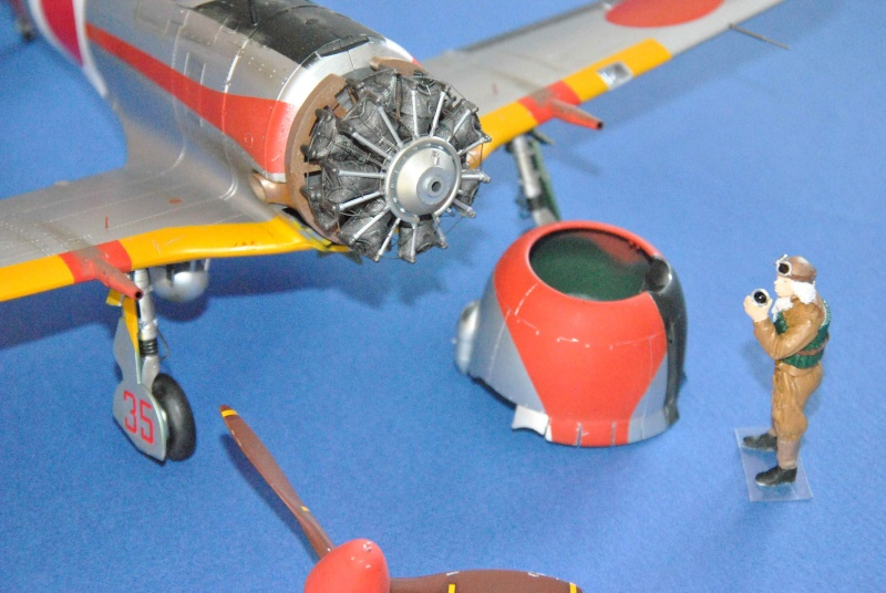 Nakajima Ki-44 Shoki 1/32 Dsc_0129