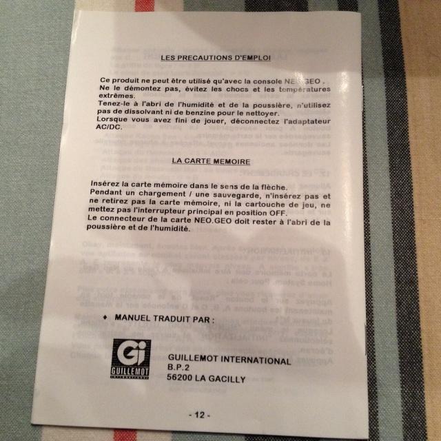 NOTICES AES : double notice en français des versions GUILLEMOT (listing) - Page 5 00511