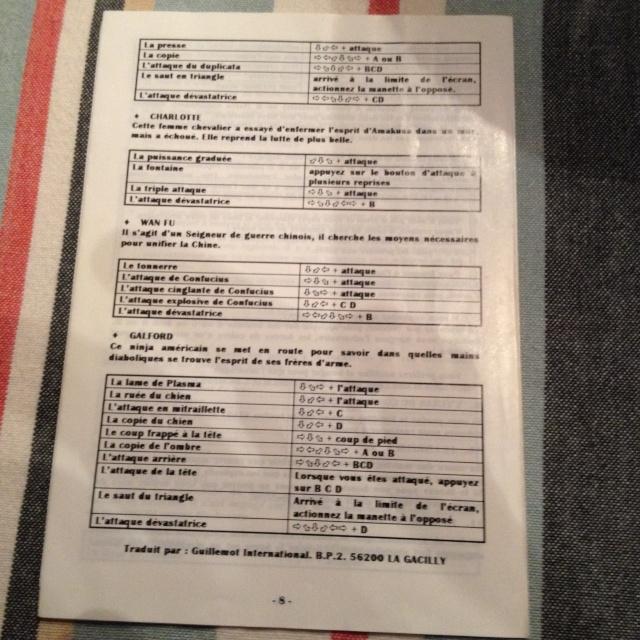 NOTICES AES : double notice en français des versions GUILLEMOT (listing) - Page 5 00710