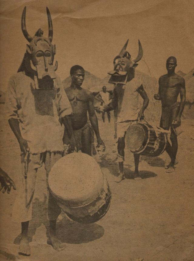 Senufo people, Waanyugo (or Waabele), Helmet Mask,   Korhogo District, Ivory Coast 1954_k10