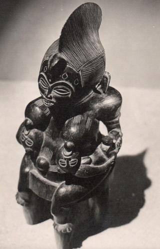 Senufo people, Maternity Poro Society Figure (Nong), Korhogo Area, Ivory Coast 19627310