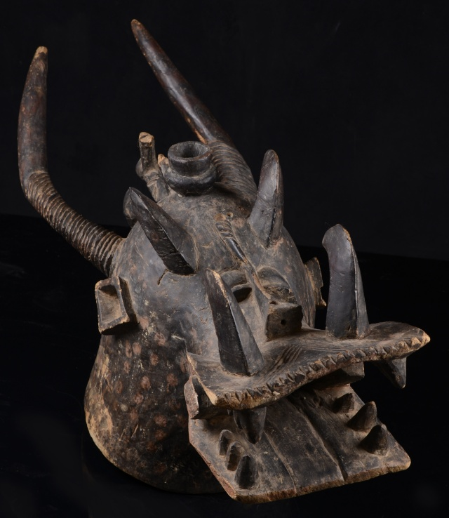 Senufo people, Waanyugo (or Waabele), Helmet Mask,   Korhogo District, Ivory Coast 209c11