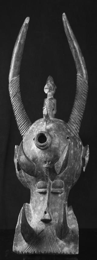 Senufo people, Waanyugo (or Waabele), Helmet Mask,   Korhogo District, Ivory Coast 209e_210