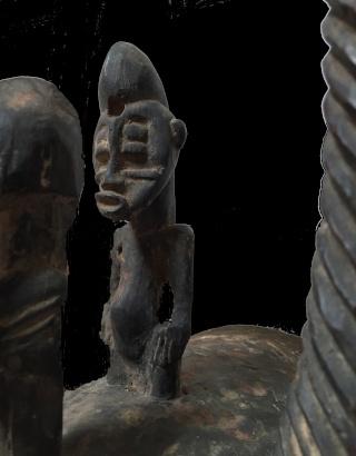 Senufo people, Waanyugo (or Waabele), Helmet Mask,   Korhogo District, Ivory Coast Senufi12