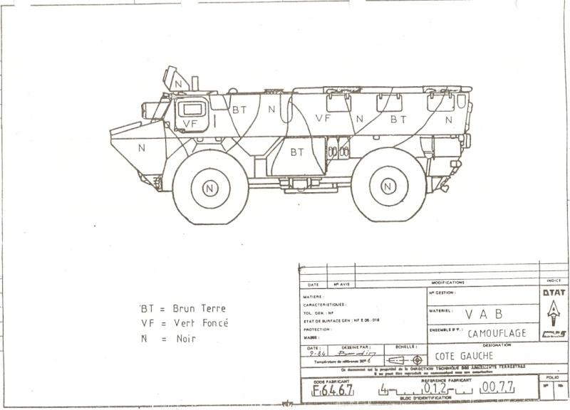 """Vab """" opération serval """" ( 1/35ème ) Vab11010"""