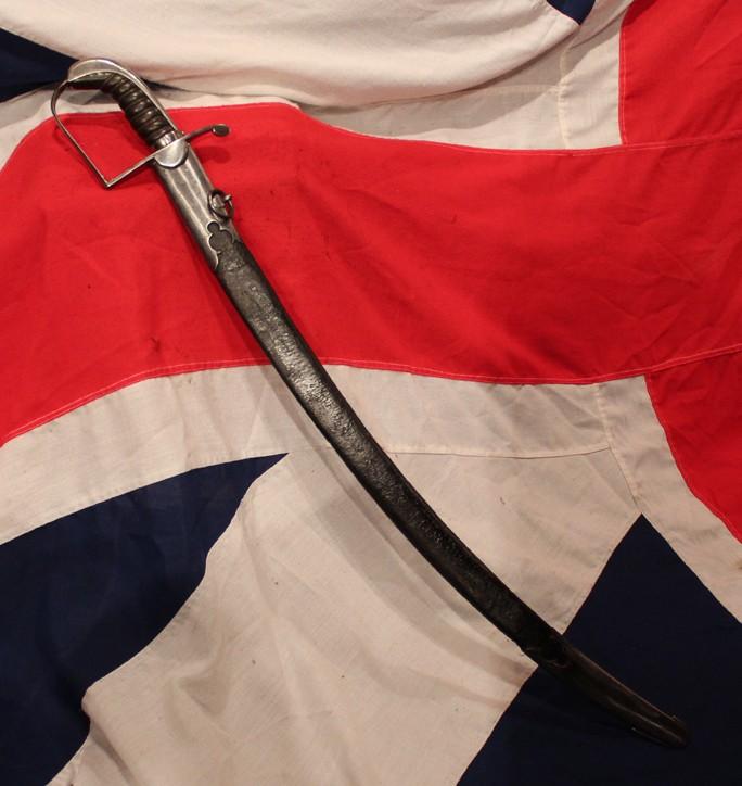 Sabre britannique de cavalerie légère modèle 1796. 179610