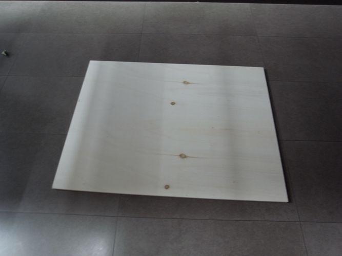 tavolino per bonsai realizzato in economia A11