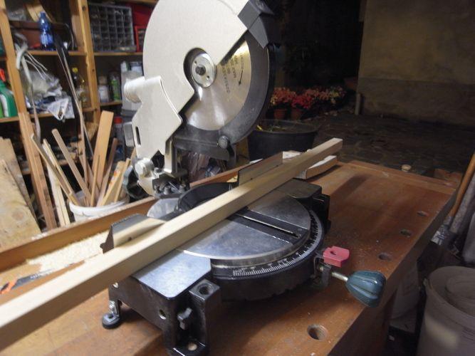 tavolino per bonsai realizzato in economia A15