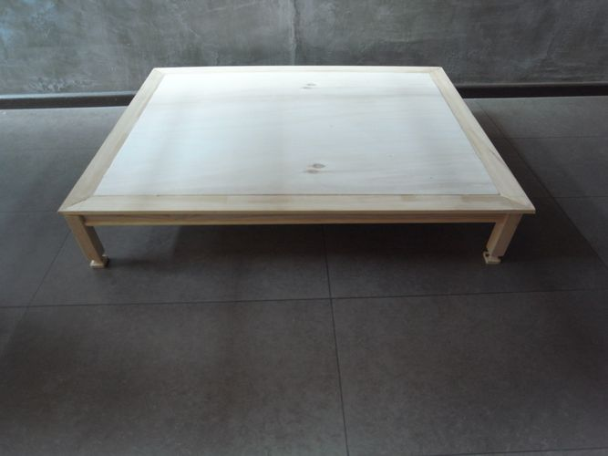 tavolino per bonsai realizzato in economia A213