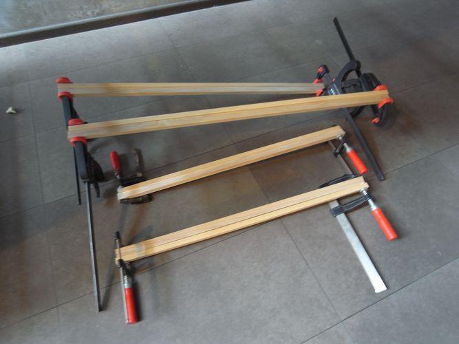 tavolino per bonsai realizzato in economia Aaa12