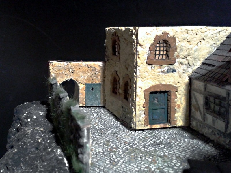 Die alte Herberge. Ein kleines Diorama in 1:100 - Seite 6 Anbau110