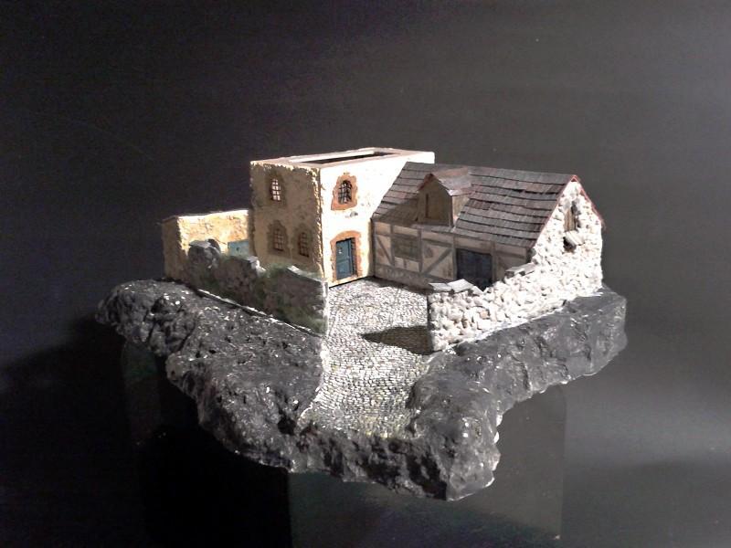 Die alte Herberge. Ein kleines Diorama in 1:100 - Seite 6 Anbau111