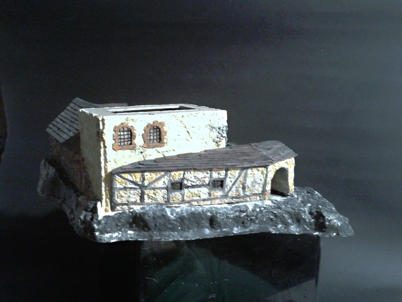 Die alte Herberge. Ein kleines Diorama in 1:100 - Seite 6 Anbau113