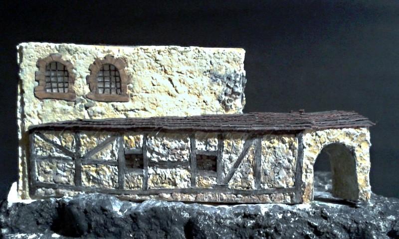 Die alte Herberge. Ein kleines Diorama in 1:100 - Seite 6 Anbau116