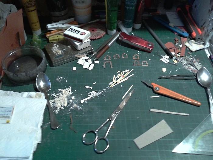 Die alte Herberge. Ein kleines Diorama in 1:100 - Seite 5 Arbeit10