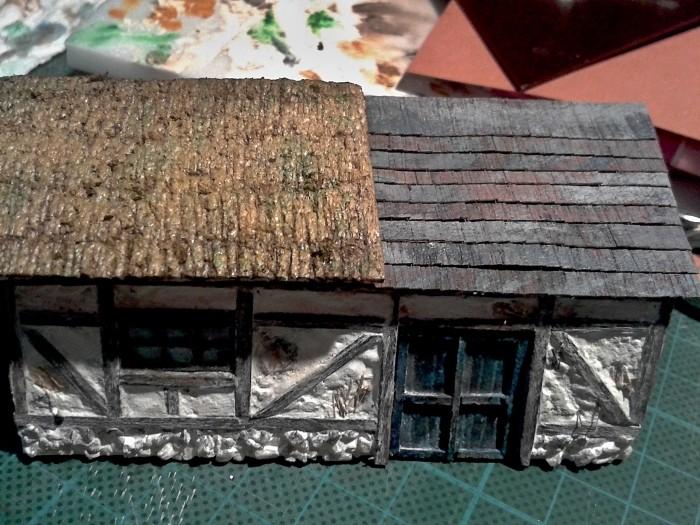 Die alte Herberge. Ein kleines Diorama in 1:100 - Seite 4 Dach0610