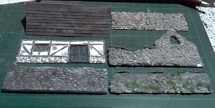 Die alte Herberge. Ein kleines Diorama in 1:100 - Seite 4 Dach1110