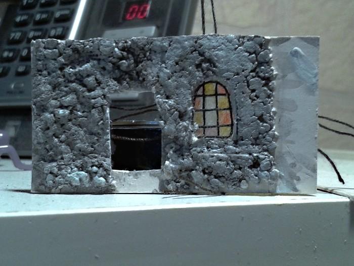 Die alte Herberge. Ein kleines Diorama in 1:100 - Seite 5 Haus1710