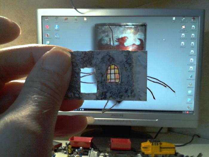 Die alte Herberge. Ein kleines Diorama in 1:100 - Seite 5 Haus1810