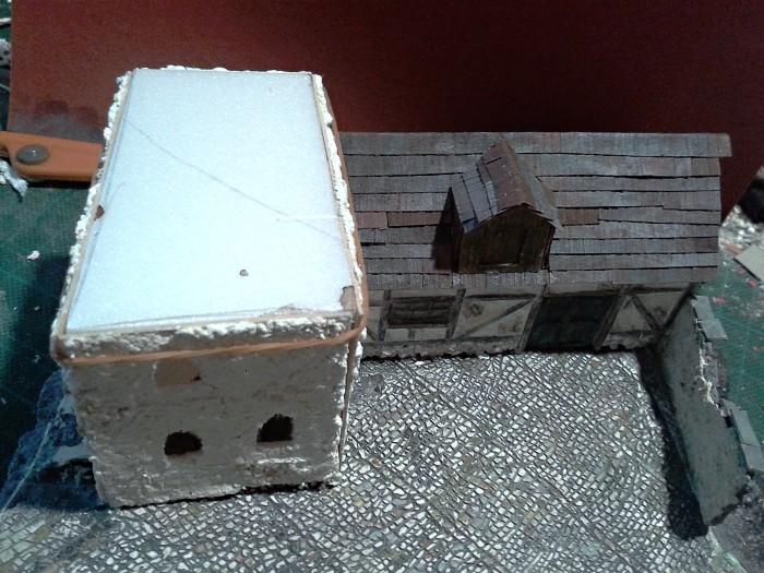 Die alte Herberge. Ein kleines Diorama in 1:100 - Seite 5 Haus2210