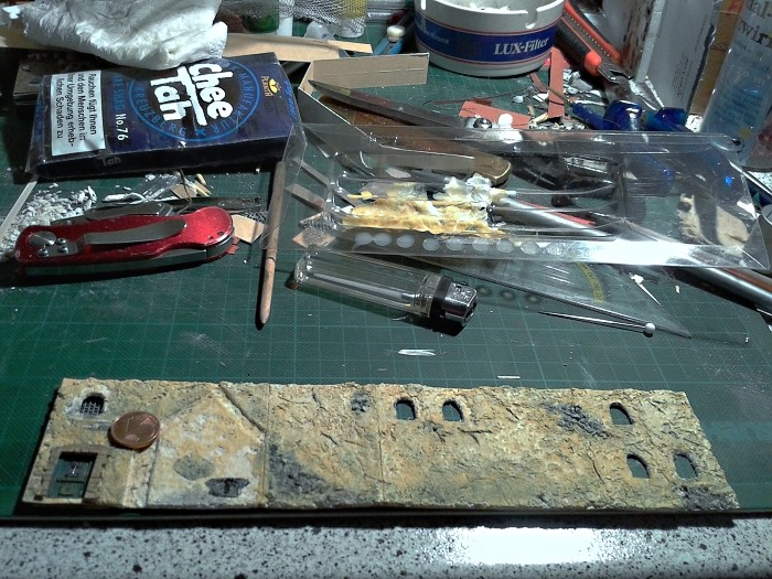 Die alte Herberge. Ein kleines Diorama in 1:100 - Seite 5 Hausfa10