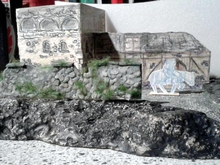 Die alte Herberge. Ein kleines Diorama in 1:100 - Seite 2 Mauer110