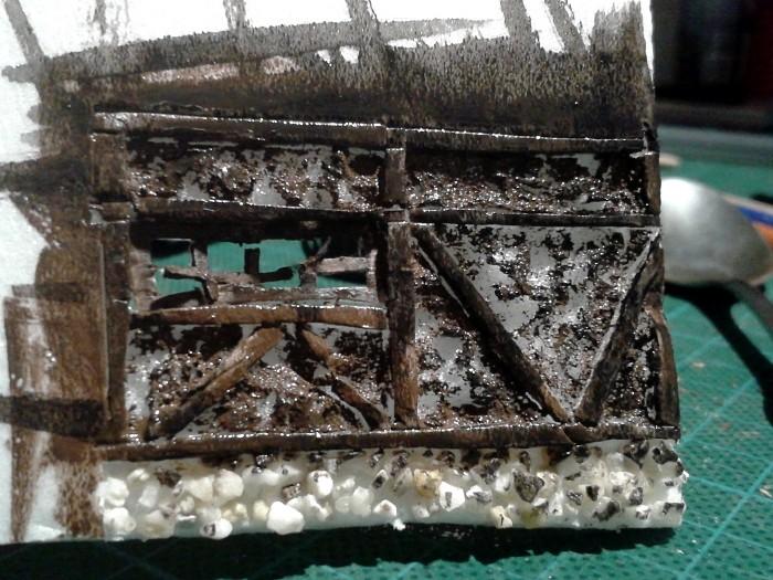 Die alte Herberge. Ein kleines Diorama in 1:100 - Seite 2 Stall013