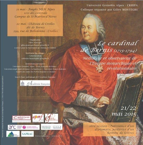 Le cardinal de Bernis Médiateur et observateur de l'Europe Bernis10