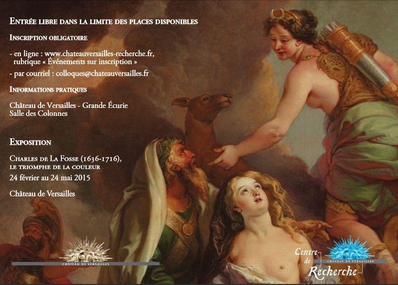 Charles de La Fosse et les arts en France 18-19 mai 2015 Colloq11