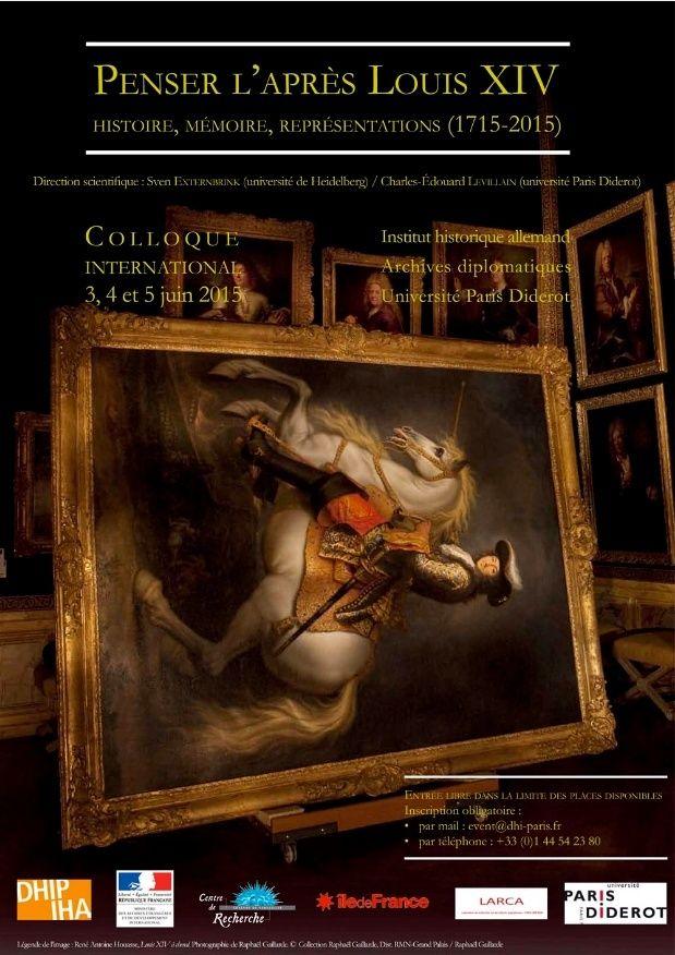 Penser l'après Louis XIV: histoire, mémoire, représentations Colloq12