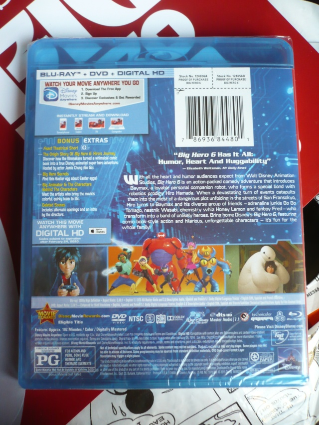[Blu-ray + DVD] Les Nouveaux Héros (sortie le 24 Juin 2015 en France) - Page 6 P1250015