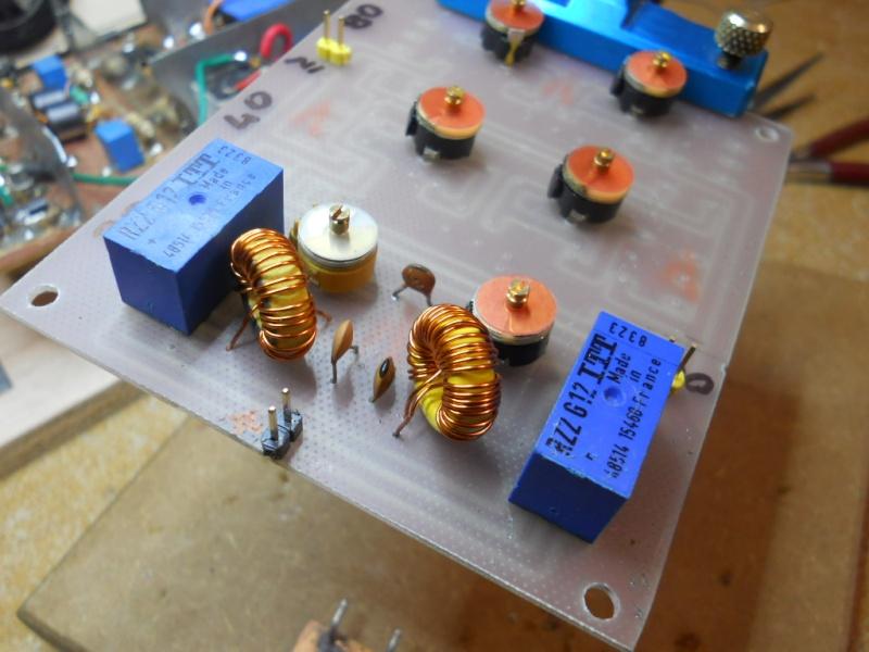 Construction d'une station radio ondes-courtes Triban10