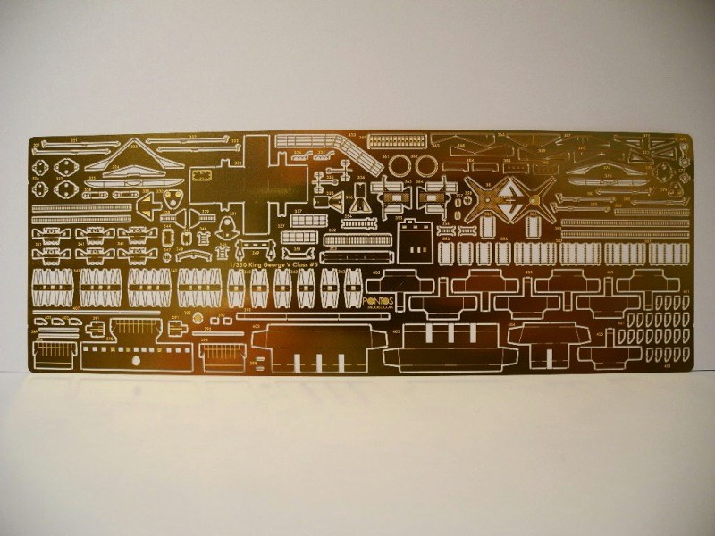 HMS DUKE OF YORK Tamiya 1/350 + Kit Pontos 10326-20