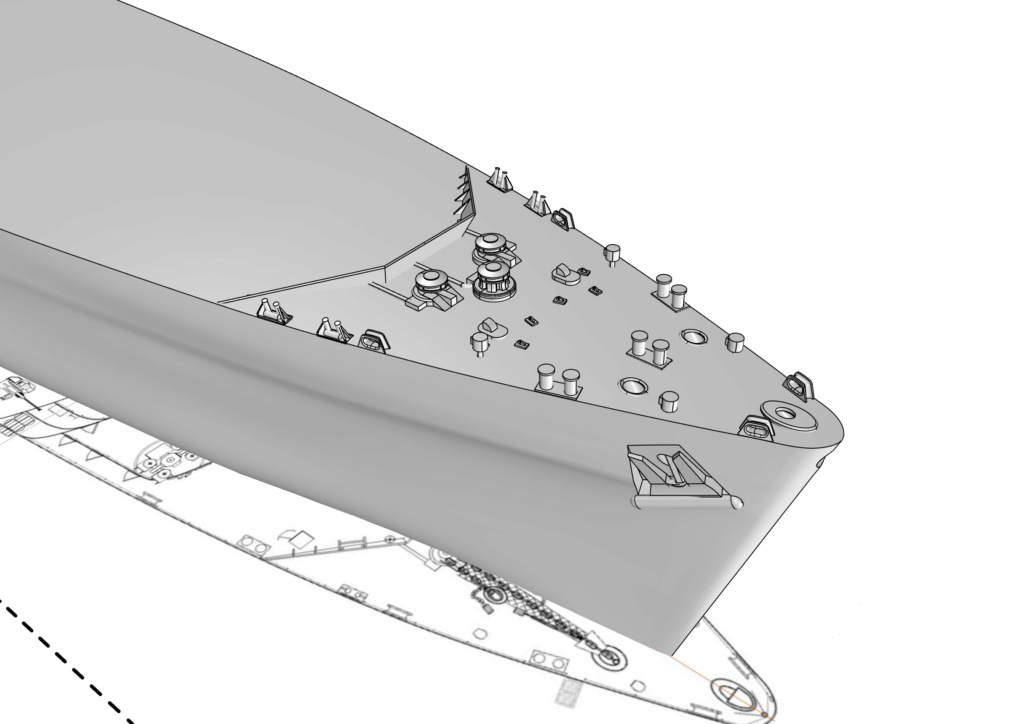 HMS Fearless 1/350 1210