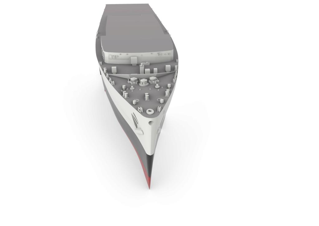 HMS Fearless (scratch 3D 1/350°) par horos 1410
